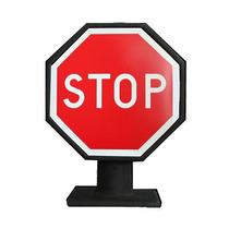Luminária Abajur Decorativo Placas De Trânsito Pare / Stop