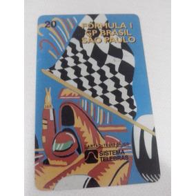 Cartão Telefônico Formula 1 Gp São Paulo 1997