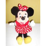 Peluche Minnie Mouse Mimi Original Disney 27 Cms