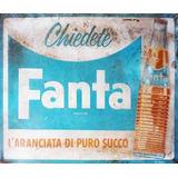 Carteles Antiguos Chapa Gruesa 20x30cm Naranja Fanta Dr-243