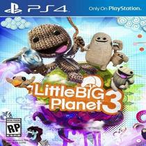 Little Big Planet 3 Ps4 Pré Venda 1°(código Psn) Rafa Gamer!