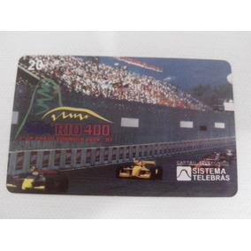 Cartão Telefônico Gp Rio 400 Formula Indy 1997
