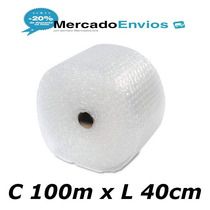 Plástico Bolha 100m X 40cm Na Largura Ideal Para E-commerce