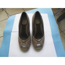 Sapato Feminino Salto Alto Semi-novo Na Caixa Pronta Entrega