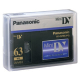 Caset Video Digital Panasonic Minidv Pq63 Uso Profesional