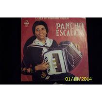 Pancho Escalada-el Rey Del Chamame Tropical-lp Vinilo-envios