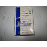 Marquilla Cigarrillos Melbour Lights Abierto Coleccion C88