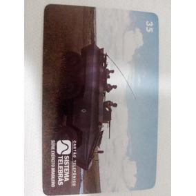 Cartão Telefônico Blindado Urutu - Série Exército Brasileiro
