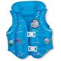Boia Colete Inflável Para Crianças Turma Da Monica Azul