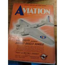Revista De Aviación De Los Años 40 Segunda Guerra Mundial
