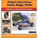 Projeto Kart Cross Gaiola Buggy Trilha - Português