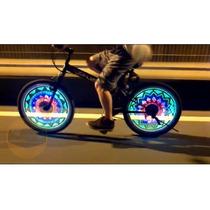 Tira Luz 48 Led Programable Para Bicicleta Rueda Etc