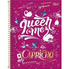 Caderno Universitário Capricho 96 Folhas 2017 Kit C/04