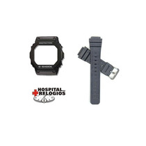 Kit Capa Pulseira Casio G-shock Dw-5200 Dw-5600 Dw-5000