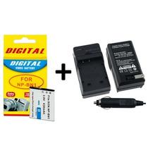 Kit Bateria Np-bn1 + Carregador P/ Sony Dsc-qx10 Wx80 W830