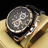 Reloj Yyp Fashion De Lujo Imitación Oro Quartz
