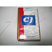 Marquilla Cigarrillos C J (caja Blanca) De Colección