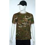 Multicam - Camiseta Manga Curta Camuflada E Fardas