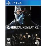 Xl Edicion Especial Completa En Español Ps4 Mortal Kombat Xl