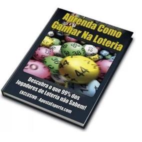 Livro Digital Como Ganhar Na Loteria