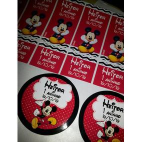 Rótulos Adesivos Personalizados Mickey