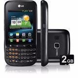 Lg Optimus Pro C660 Novo 3.2mp 800mhz 3g Wi-fi+cartão 8g