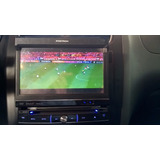 Som Para Carro Dvd + Tv C/ 2 Telas P/ Passageiros