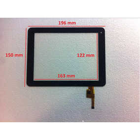 Touch Screen Cristal Tablet 8 Pulgadas Polaroid Pmid80c