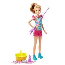 Juguete Barbie Hermanas Camping Stacie Muñeca
