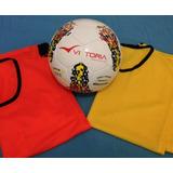 Kit Meu Futsal 9 Itens - Bola Vitoria Mx510 Mais 8 Coletes