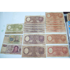 Billetes Pesos Nacionales Lote X 20