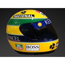 Capacete Ayrton Senna Para Coleção