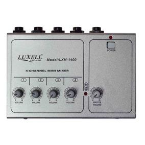 Mini Mixer 4 Canales Micrófonos Y Linea By Dancis