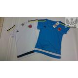 Camiseta Seleccion Colombia Oficial 2015 Entrenamiento Dama