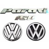 Kit Emblemas Parati 16v - Bola G2 - Modelo Original