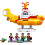 Lego The Beatles Yellow Submarine 21306 Original Pta Entrega