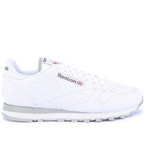 Tênis Reebok Classic Cl Leather Int White Grey 2214