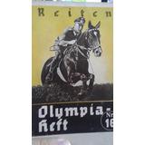 Livro Divulgação Olimpíada Berlim 1936 Nazismo Olympia Heft