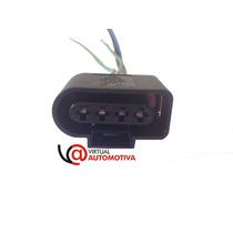 Soquete Plug Conector Bobina Ignição: Gol G3, G4, Fox, Polo