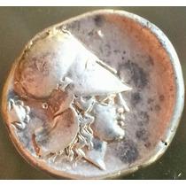 Moeda Clássica Grega Stater De Corintos Pegasus Prata Grécia
