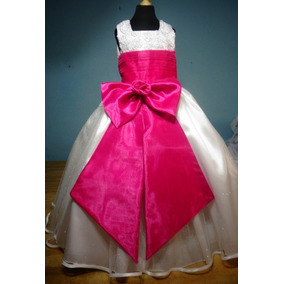 Vestido De Paje Pajecita Para Niña Tipo Tutu Color Fiusha