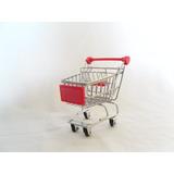 Carrito De Compras Miniatura Super Mercado