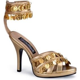 Zapatos Sandalias De Gitana Arabe Belly Dance Para Damas