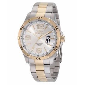 Relógio Invicta Il 0086 Detalhe Banhado Ouro 18k Luxo Edição