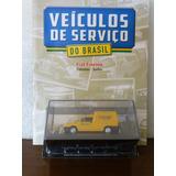 Fiat Fiorino Correios - Veiculos De Serviço 1:43 Com Revista