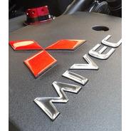 Adesivo Mivec Capa Motor Lancer Mitsubishi Resinado