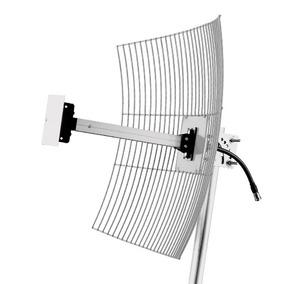 Antena Wireless Externa Parábola De Grade 2.4 Ghz 24dbi