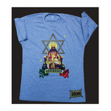 Camiseta Reggae Jah Rastafari + Pulseira
