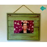 Cuadro Decorativo Frida Kahlo Vintage