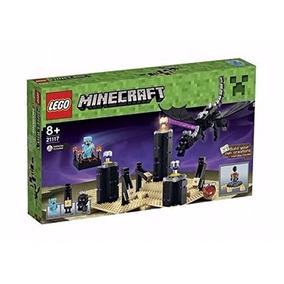 Lego Minecraft 21117 The Ender Dragon Construccion Educando